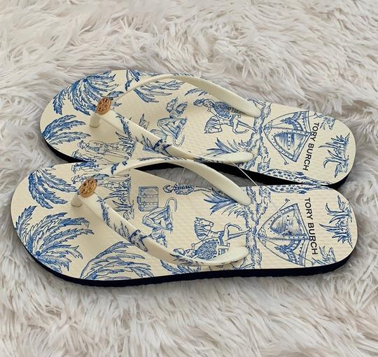 Tory Burch ivory far and away Sandals Image 9