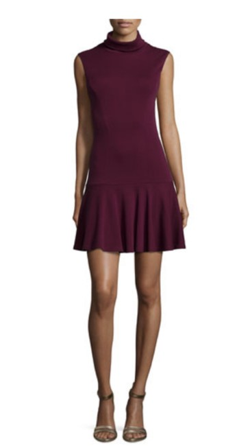 Item - Burgundy Red Short Cocktail Dress Size 0 (XS)