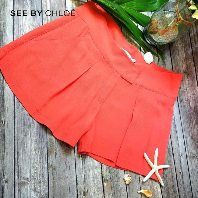 See by Chloé Light Summer In Italy Mini/Short Shorts Coral Image 4