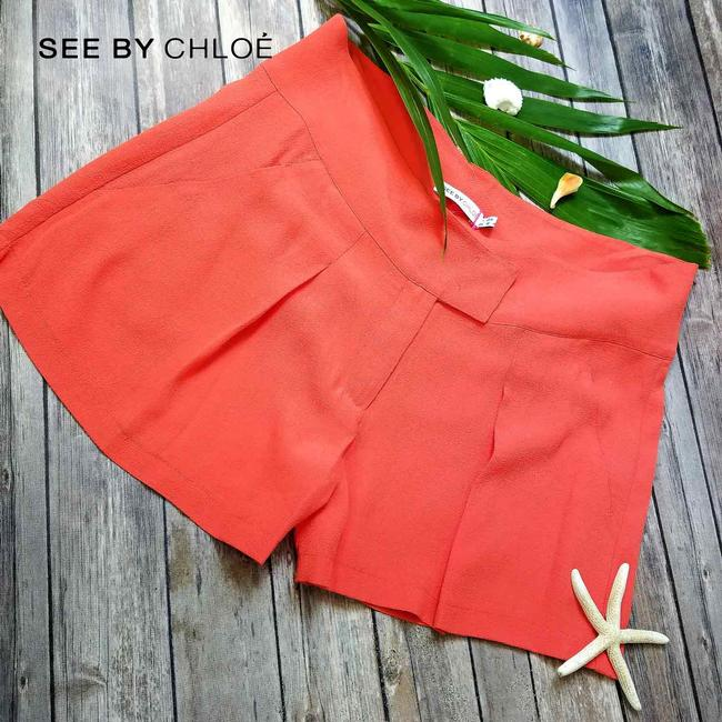 See by Chloé Light Summer In Italy Mini/Short Shorts Coral Image 5