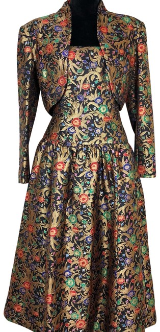Preload https://img-static.tradesy.com/item/25694588/victor-costa-gold-with-green-red-and-blue-florals-vintage-gown-long-night-out-dress-size-8-m-0-1-650-650.jpg