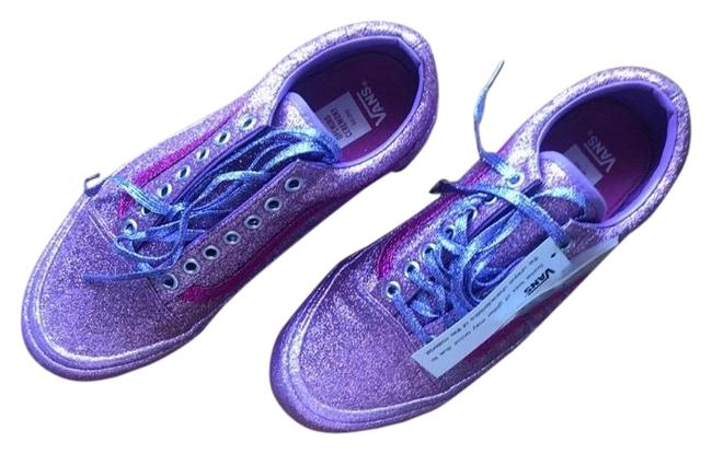 Item - Oc X Vans Limited Edition Glitter Pack— Lilac/Pink Sneakers Size US 8.5 Regular (M, B)