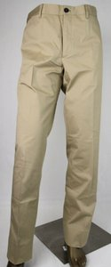 Prada Sand Brown Cotton Stretch Dress Pants Eu 56/Us 40 Spe15 710 Groomsman Gift