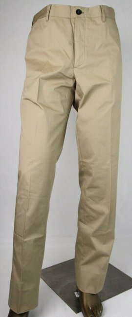 Item - Sand Brown Cotton Stretch Dress Pants Eu 56/Us 40 Spe15 710 Groomsman Gift