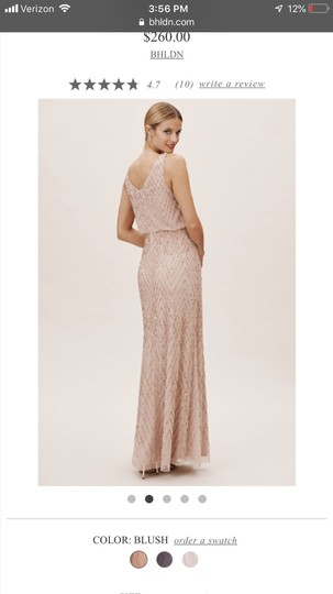 BHLDN Blush Gown Formal Bridesmaid/Mob Dress Size 2 (XS) Image 1