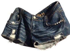 Almost Famous Clothing Cut Off Shorts denim