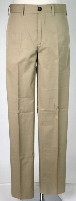 Item - Sand Brown Men's Cotton Dress Pants Eu 44/Us 28 Spe15 Ic0j Groomsman Gift