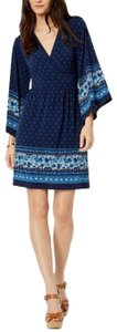 MICHAEL Michael Kors short dress navy blue on Tradesy