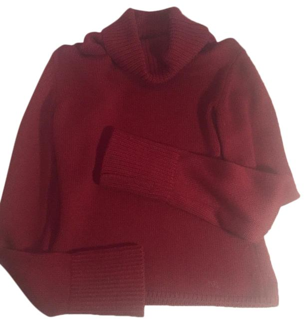 Burberry Turtleneck Red Sweater Burberry Turtleneck Red Sweater Image 1