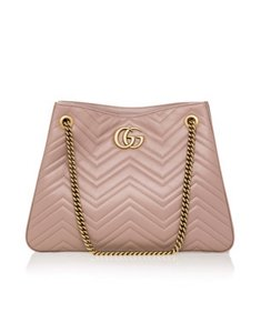 Gucci Medium Marmont Tote in Pink