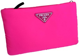 Prada Pradaclutch Pinkprada Pradacrossbody Brandnewprada Cross Body Bag