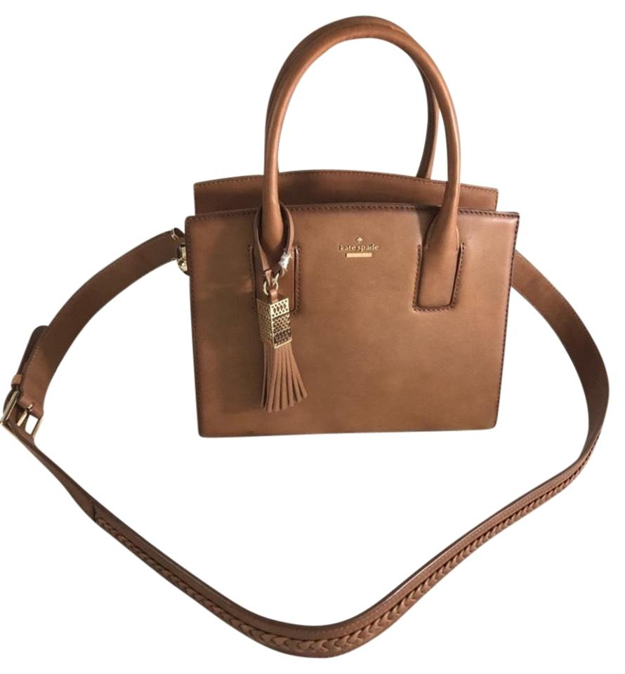 exceptional range of styles and colors world-wide renown shop best sellers Kate Spade Crossbody Small Blanca Tote Brown Leather Satchel 25% off retail