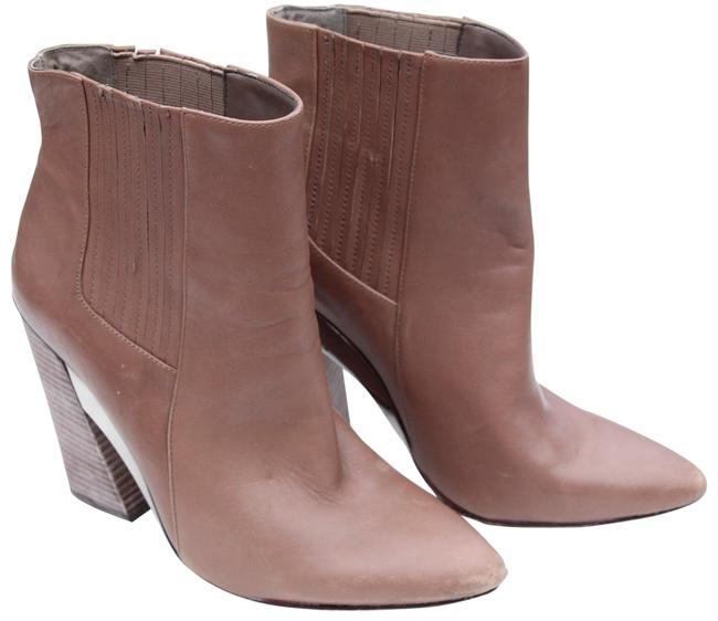 BCBGMAXAZRIA Taupe Metilo Boots/Booties Size US 8.5 Regular (M, B) BCBGMAXAZRIA Taupe Metilo Boots/Booties Size US 8.5 Regular (M, B) Image 1