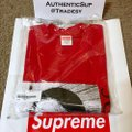 Supreme T Shirt Red Image 2