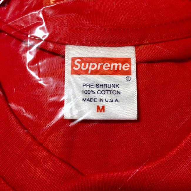 Supreme T Shirt Red Image 4