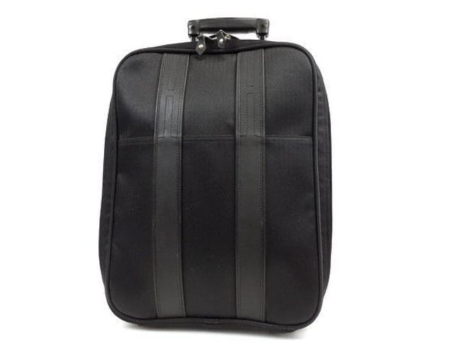Item - Rolling Luggage Trolley Suticase Carry On 237272 Black Canvas Weekend/Travel Bag