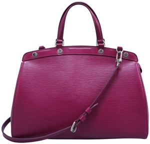 Louis Vuitton Lv Brea Epi Mm Satchel in DARK PURPLE