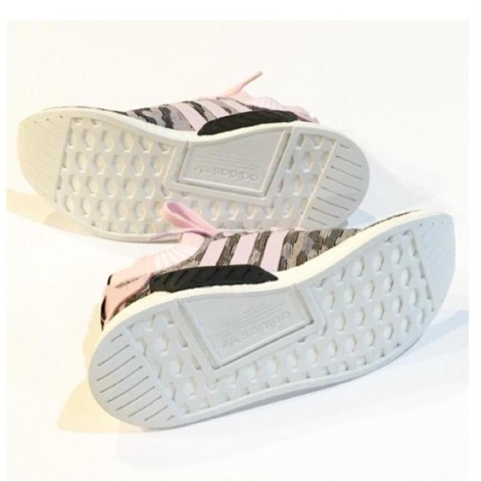 factory authentic 07c87 11f90 Pink Nmd R2 Primeknit Sneakers