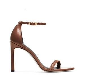 Stuart Weitzman Brown-cognac Sandals