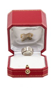 Cartier Cartier Rhodium-Plated 18K White Gold LOVE Ring 48