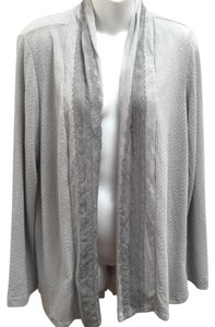 one.september Lace Pleated Open Front Cardigan