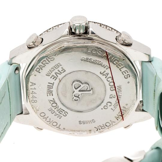 Jacob & Co. Multicolor Mother of Pearl Diamond Five Time Zones Women's Wristwatch Image 3