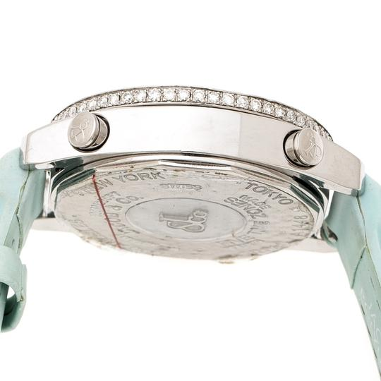 Jacob & Co. Multicolor Mother of Pearl Diamond Five Time Zones Women's Wristwatch Image 4