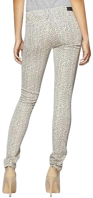 Item - Taupe Leopard Verdugo Ultra Ankle Skinny Jeans Size 6 (S, 28)