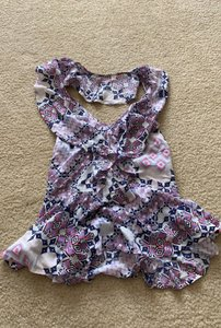 Express Top pink and purple
