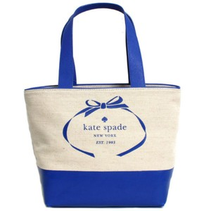 Kate Spade Tote in blue, natural