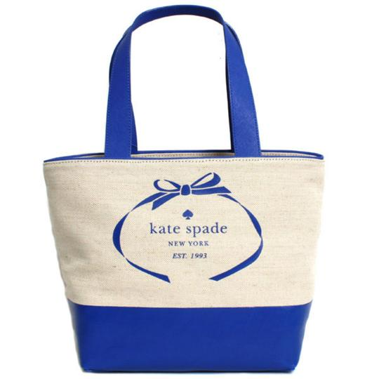 Kate Spade Tote in blue, natural Image 0