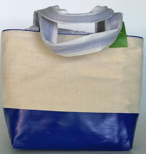 Kate Spade Tote in blue, natural Image 8