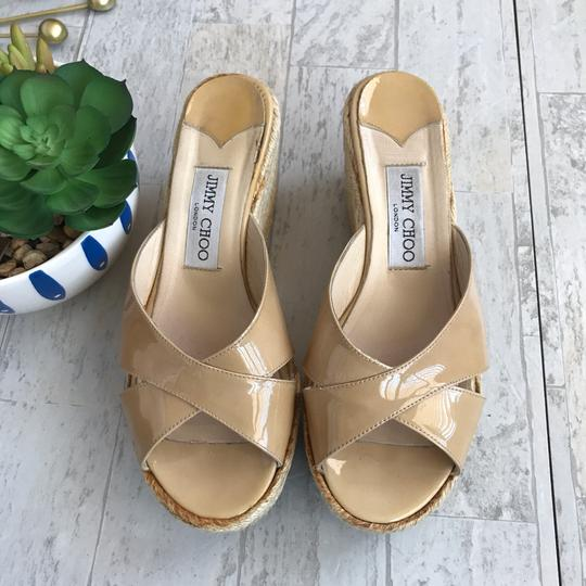 Jimmy Choo beige Wedges Image 1