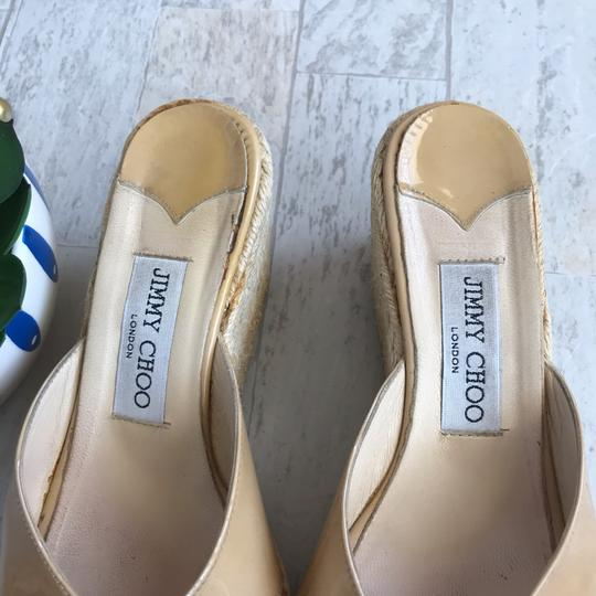 Jimmy Choo beige Wedges Image 3