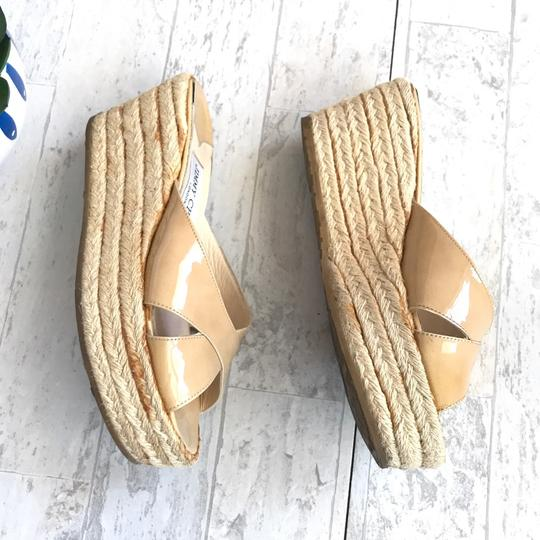 Jimmy Choo beige Wedges Image 4