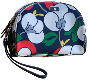 Kate Spade Kate Spade Dawn Breezy Floral Medium Dome Cosmetic Bag -