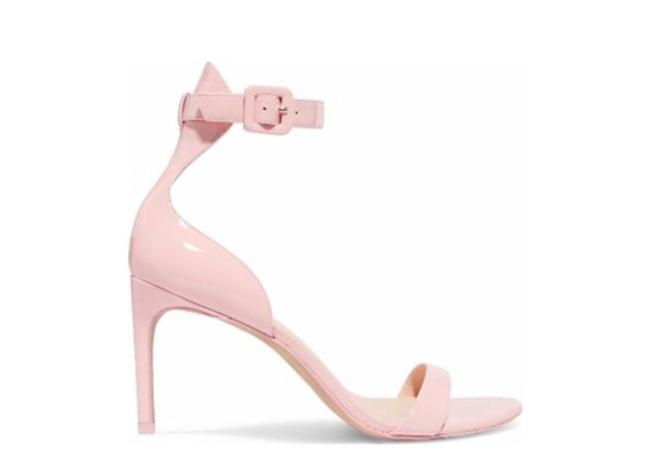 Item - Baby Pink Nicole Patent Mid Sandal Formal Shoes Size EU 40.5 (Approx. US 10.5) Regular (M, B)