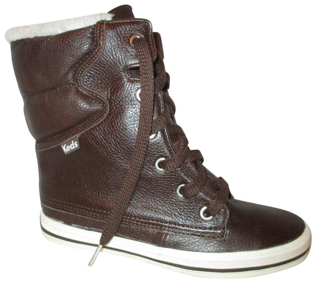 Item - Brown Reserved Droplet Pebbled Leather Boots/Booties Size US 6 Regular (M, B)