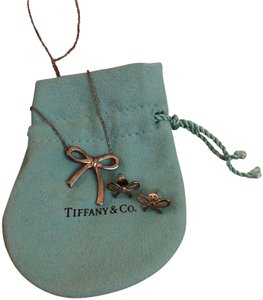 Tiffany & Co. Bow Earrings and Necklace