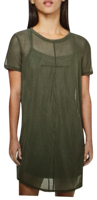 Item - Dark Olive Ready To Reach New with Tags Mid-length Short Casual Dress Size 10 (M)