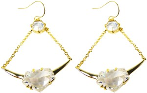 Alexis Bittar ALEXIS BITTAR Sparkling Gold Plated Cubic Zirconia Chandelier Earrings