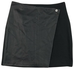 Club Monaco Mini Skirt Black