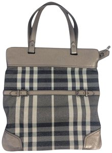Burberry Tote in pewter
