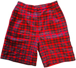 Lands' End Board Shorts Red/navy