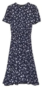 Blue Maxi Dress by Michael Kors Made In Italy Italian Floral