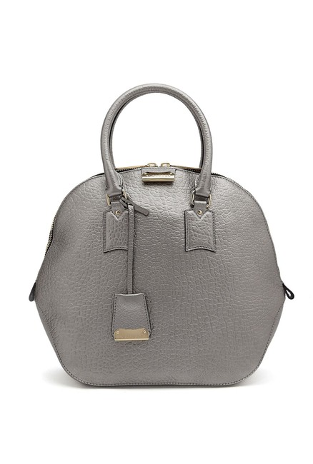 Item - Heritage Grain Medium Orchard Bowling Pale Taupe Brown ( Gray) Leather Hobo Bag