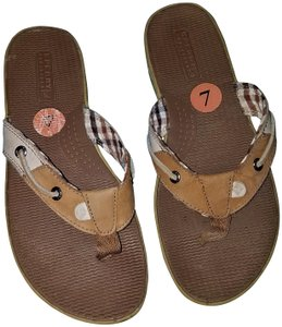 Sperry Plaid Comfort Multi Sandals