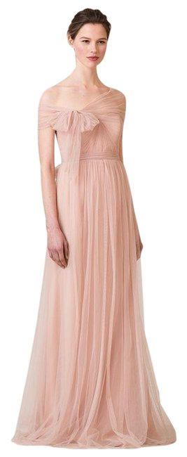 Item - Cameo Pink Anabelle Convetible Tulle Gown Long Formal Dress Size 6 (S)