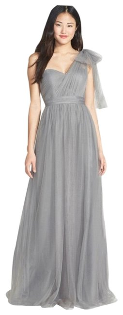 Item - Sterling Gray Anabelle Convertible Gown Long Formal Dress Size 16 (XL, Plus 0x)