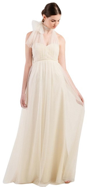 Item - Cream Anabelle Convertible Gown Long Formal Dress Size 0 (XS)
